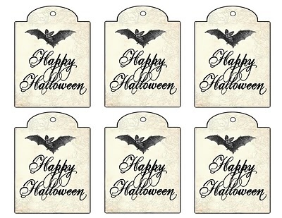i hope you get a little free time this weekend to do something fun that revolves around halloween - Halloween Gift Tag