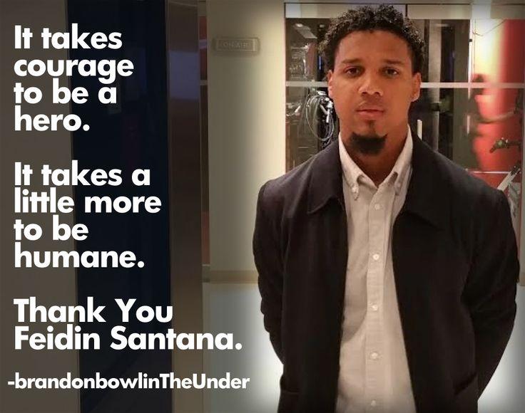 Thank you video provider Feidin Santana for keeping the video of Walter Scott.