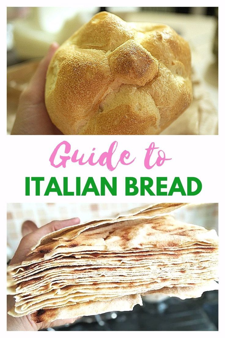 Bread In Italy Discover 10 Italian Bread Types And Names Culinary Travel Travel Food Travel Eating