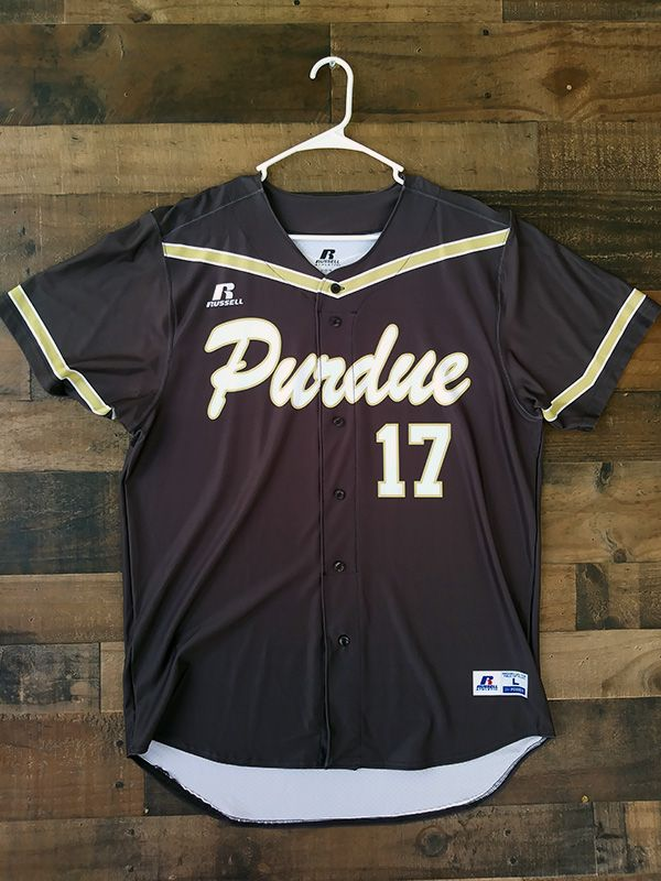 new concept 37051 fcd10 New Unworn PURDUE UNIVERSITY BOILERMAKERS Baseball Jersey ...