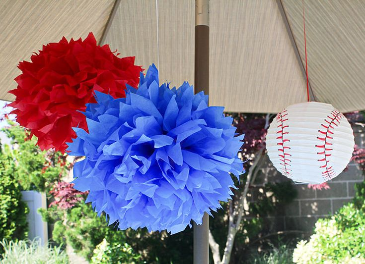Baseball Theme Party Decorations