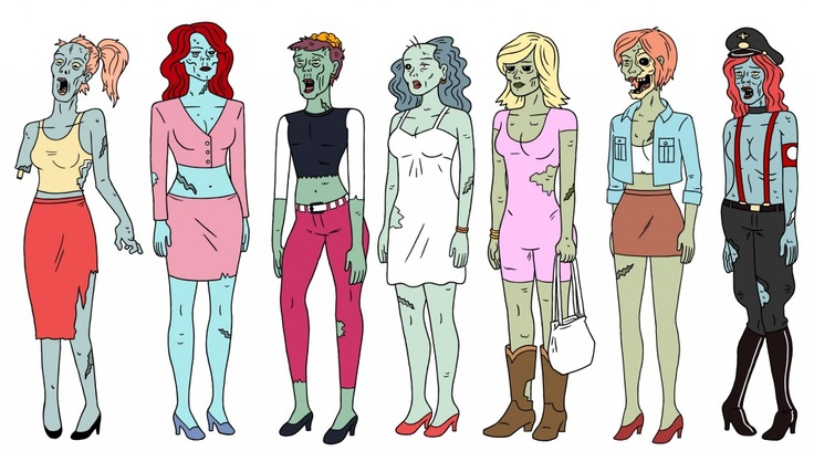 Zombie prostitutes from Ugly Americans