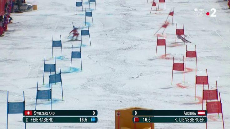 VIDÉO. JEUX OLYMPIQUES PYEONGCHANG 2018 / SKI ALPIN / EQUIPES MIXTES FINALE. Le titre olympique pour la Suisse qui s'impose en finale du Team Event face à l'Autriche, la Norvège en bronze…