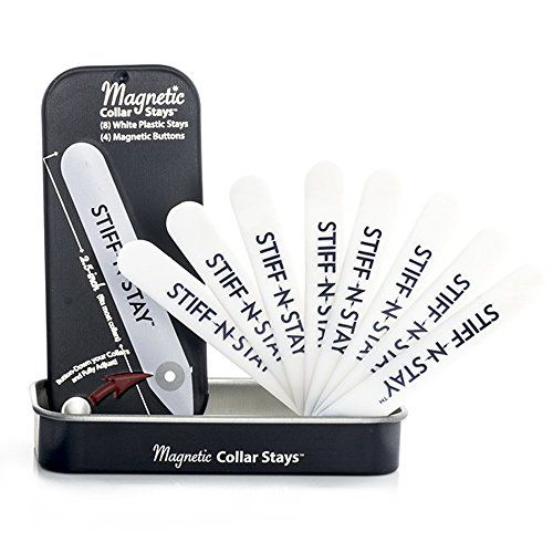 Plastic Magnetic Collar Stays - The Quick Gift