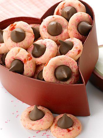 Cherry Chocolate Kisses