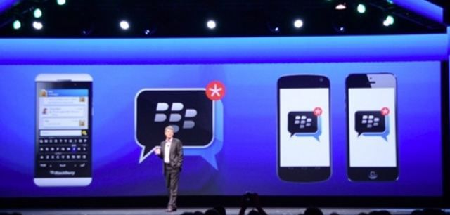 BlackBerry Messenger(BBM) va fi lansat in urmatoarele luni pe platforma iOS