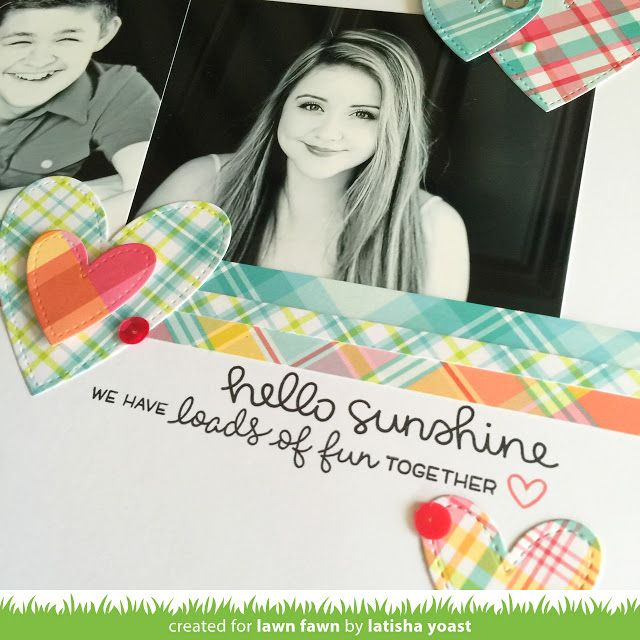 Lawn Fawn Intro: Perfectly Plaid and Lawn Fawndamentals Cardstock