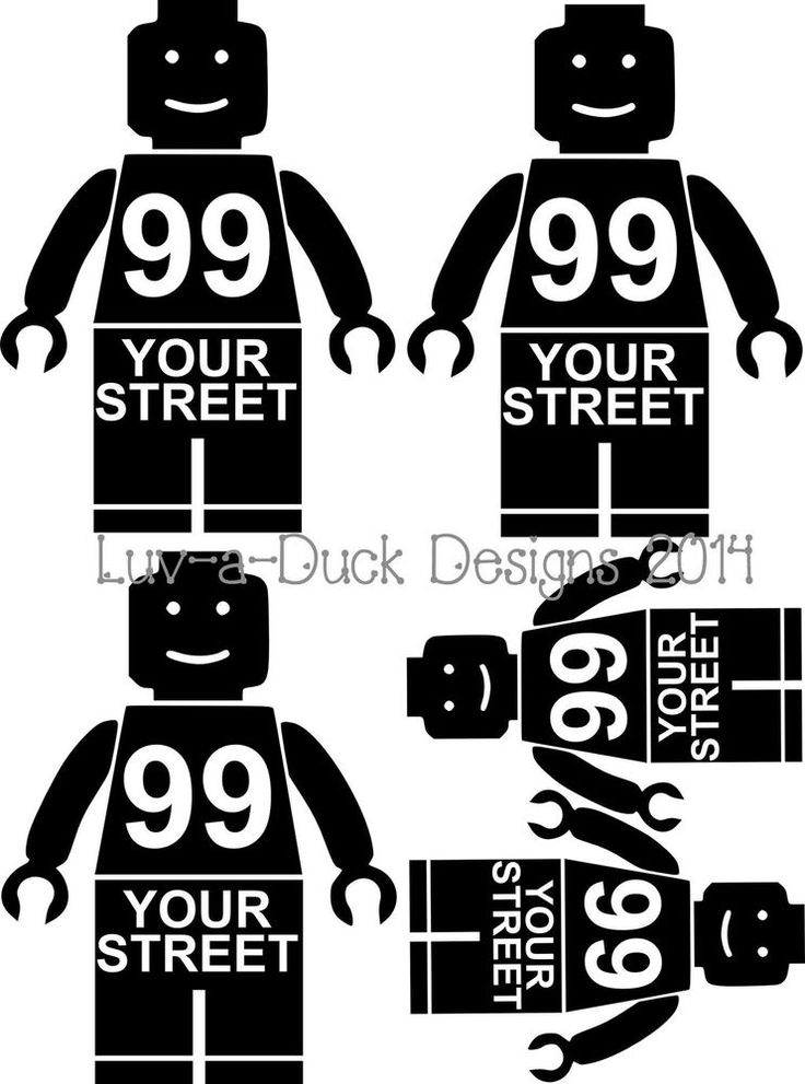 Personalised Lego Man Wheelie Bin Stickers x 5 Recycle House  in Home, Furniture & DIY, Home Decor, Wall Decals & Stickers | eBay!