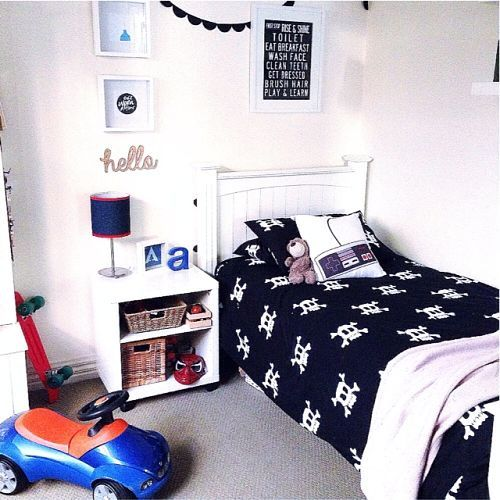 winter edit my home the stylist splash metallic cowboy boy skull kids - Metallic Kids Room Interior