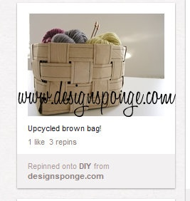The Pinterest Project: Bag Lady: Old Paper, Brown Paper Bags, Crafts Ideas, Pinterest Projects, Brown Bags, Bags Baskets, Paper Baskets, Paper Sacks, Bags Lady