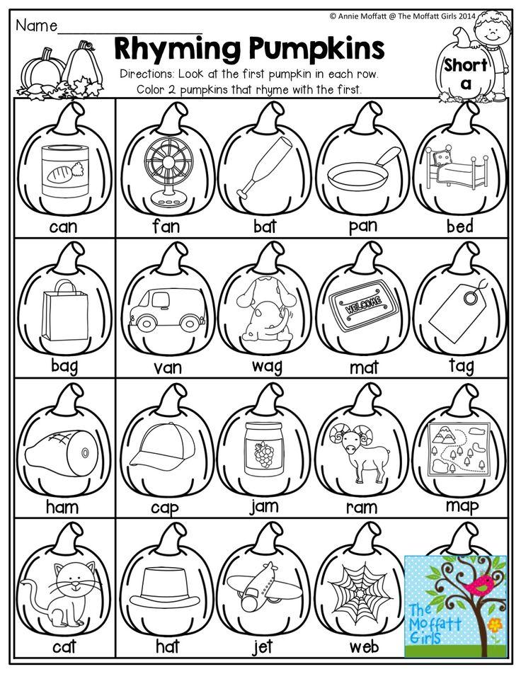 Best 25+ Rhyming kindergarten ideas on Pinterest   Rhyming words ...