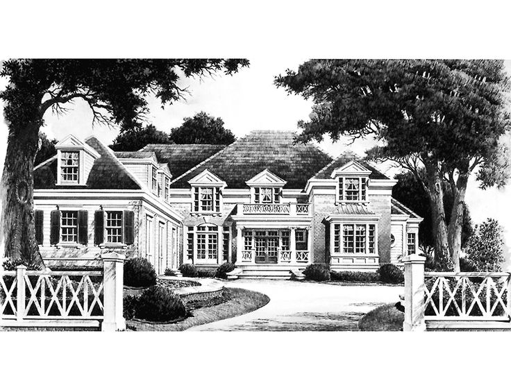 68 best images about houses on pinterest for Historic southern house plans