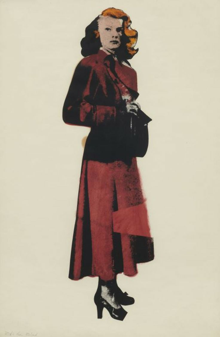 Patricia Knight by Richard Hamilton, 1964