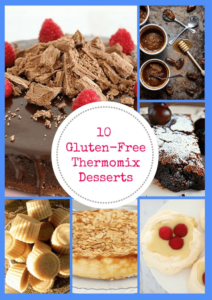 Our favourite 10 Gluten-Free Thermomix Desserts all in one delicious post. These…