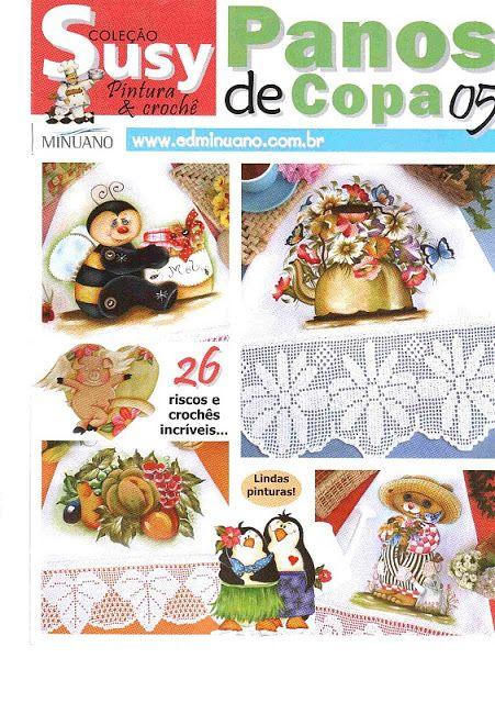 SUSY panos de copa n5 - M Andrade - Picasa Web Albums... FREE BOOK!