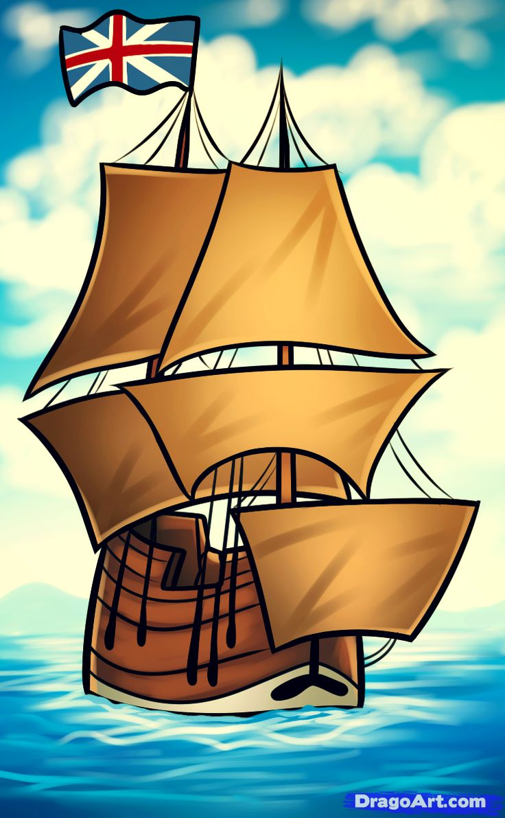 how to draw the mayflower, mayflower Drawings, Online