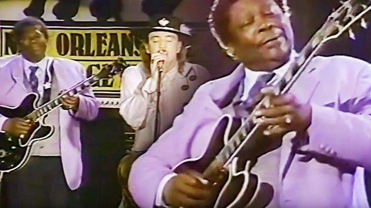 "Stevie Ray Vaughan Slays ""Texas Flood"" With Legend B.B. King"