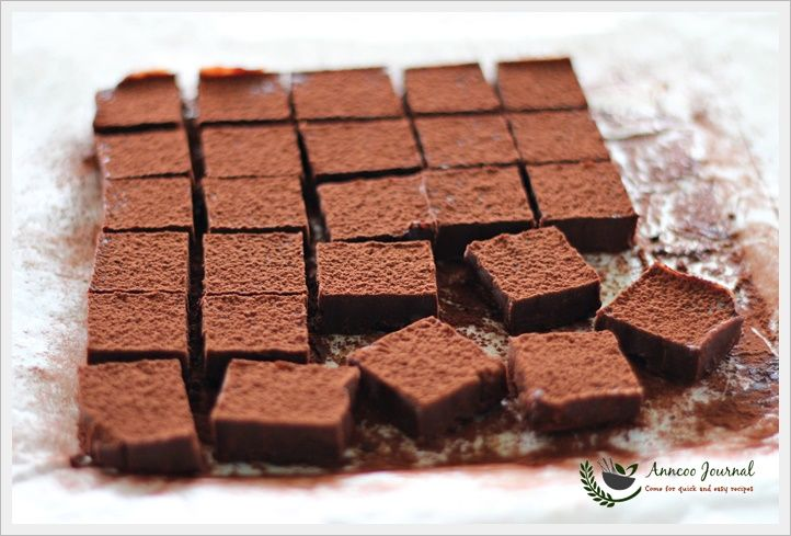 Earl Grey Nama Chocolate 伯爵茶生巧克力 | Anncoo Journal - Come for Quick and Easy Recipes