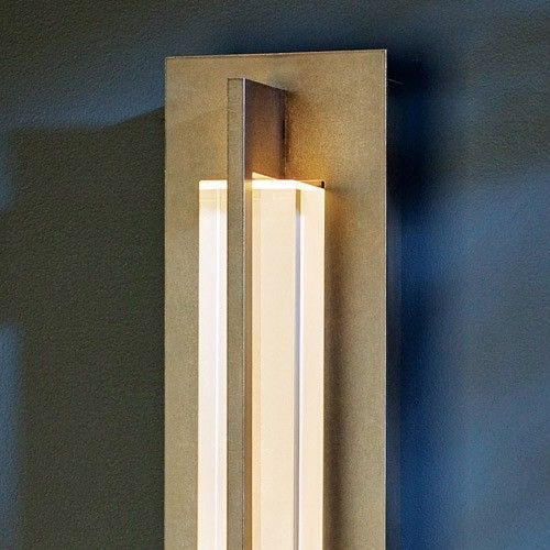 Double Axis Medium LED Outdoor Wall Sconce & Hubbardton Forge Wall ...