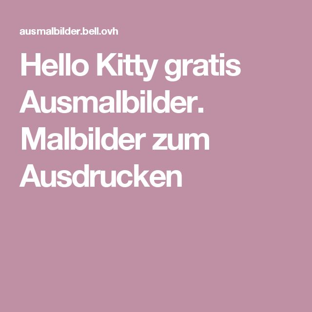 17 Best ideas about Malbilder Zum Ausdrucken on Pinterest ...