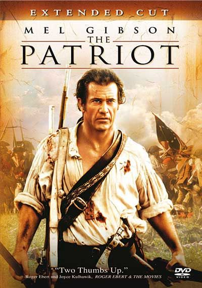 The Patriot Movie - a 2000 historical action drama starring Mel Gibson, Heath Ledger and Joely Richardson. It tells the story of a peaceful farmer, Benjamin Martin, who is driven to lead the Colonial Militia during the American Revolution when a sadistic British officer murders his son. Incredible Cinematography! (PG-15)