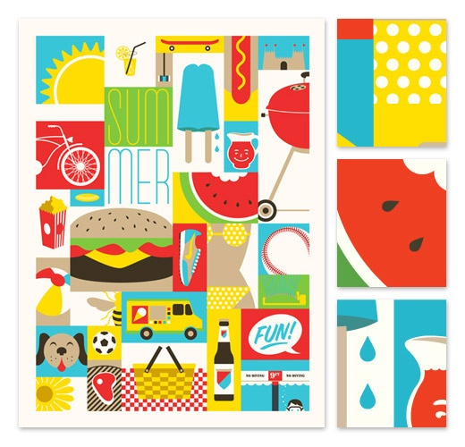 Las ilustraciones deliciosas