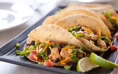 This simple mixture of tofu, spices, garlic and black beans makes a robust filling for tacos. Pack leftovers to assemble tacos for lunch.