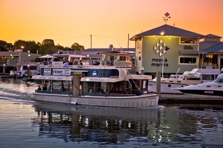Noosa Marina - Sunset