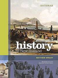 """Cover of my book """"Bateman Illustrated History of New Zealand'"""