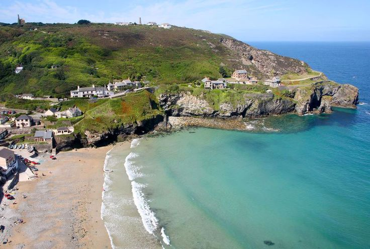 Trevaunance Cove, St Agnes, Cornwall, England Beautiful!