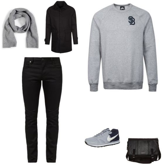 Zwarte Trui Heren Zara 47