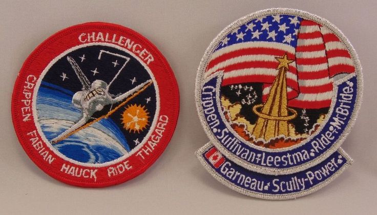 sally ride nasa name patch - photo #16