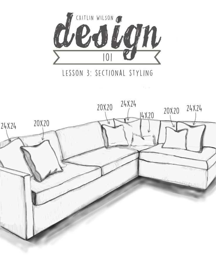 {How To Style a Sectional}                                                                                                                                                                                 More