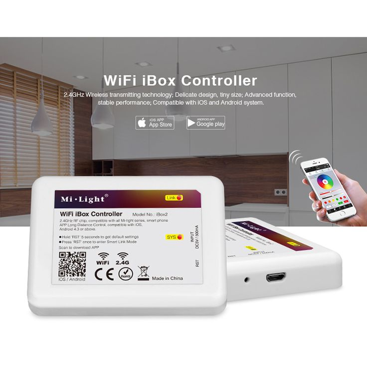 Cute Mi Licht WiFi iBox LED Controller G Wireless rgb IOS Andriod APP Controller F r