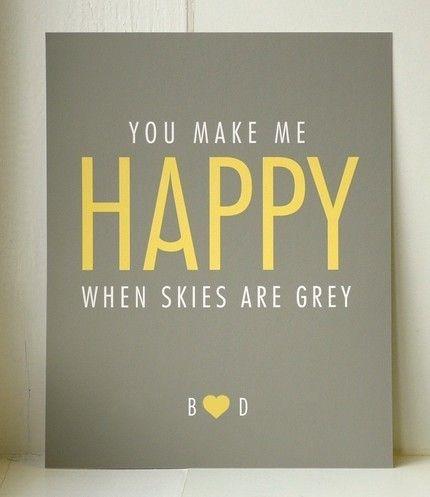 Happy yellow!Ideas, Quotes, Happy, Songs, Art Prints, Grey, Baby Room, Yellow, Bedrooms