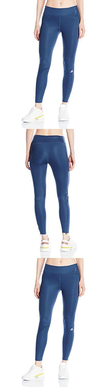 Adidas Performance Women's Supernova Long Tights, Mineral Blue, Small