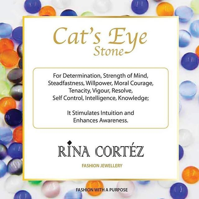 Know more about the Cat's Eye Stone which is a natural gemstone. At RINA CORTEZ…