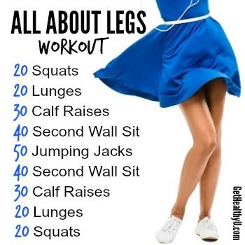 All about legs workout!