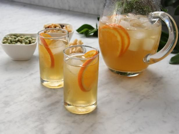 Get Tia Mowry's Green Tea and Orange Cooler Recipe from Cooking Channel