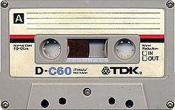 "The standard audio cassette was invented in 1962 by the Philips company. They named it the ""Compact Cassette"""