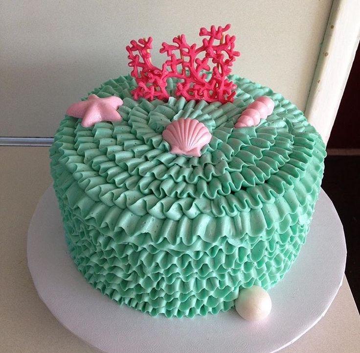 The Little Mermaid Cake - Under the Sea Cake