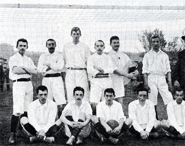 Erster deutscher Fußballmeister - VFB Leipzig 1903
