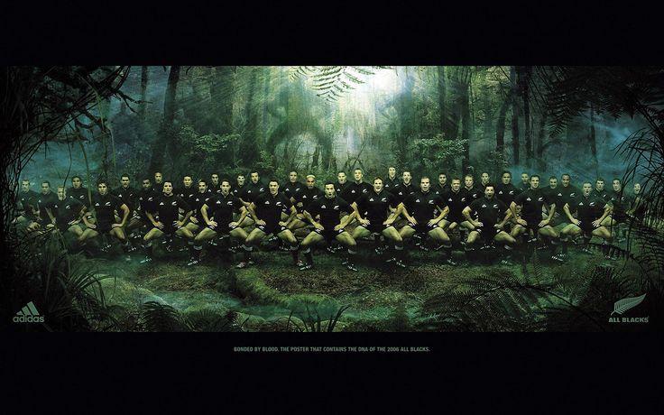 El mejor equipo de rugby, los all blacks
