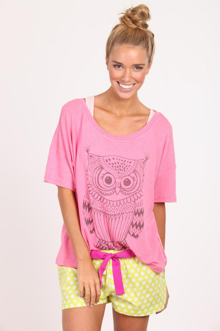 Owl illustration for Cotton On Body