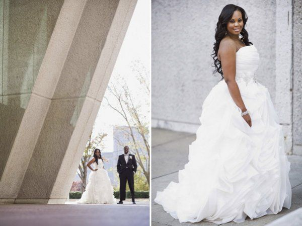 Real atlanta wedding atoya sam dress la raine s for Wedding dress boutiques atlanta