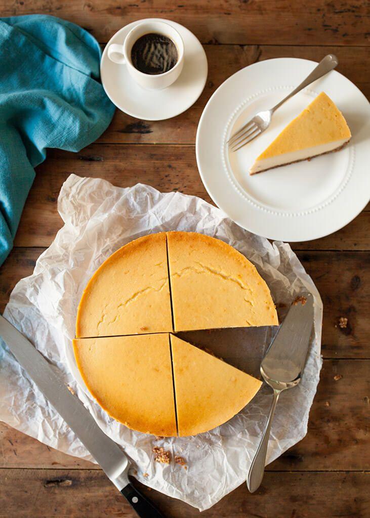 Paleo new york cheesecake