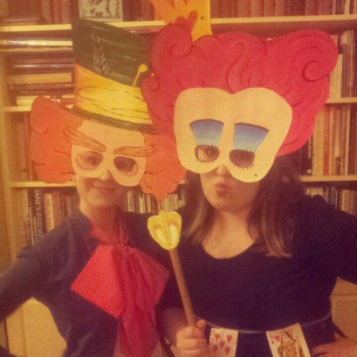 Wonderland Masks
