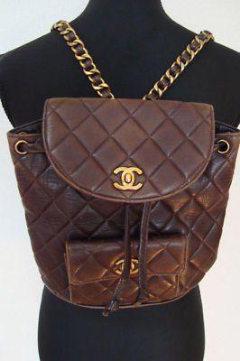 #Vintage #Chanel BackpackDesigner Purses, Hand Bags, Handbags Chanel, Vintage Handbags, Travel Bags, Backpacks Purses, Chanel Backpacks, Designer Bags, Backpacks Vintage Chanel