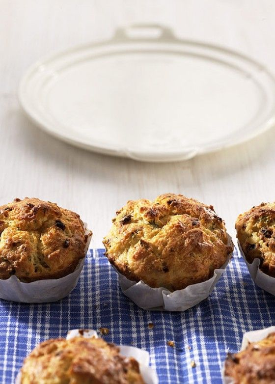 Käse-Quark-Muffins