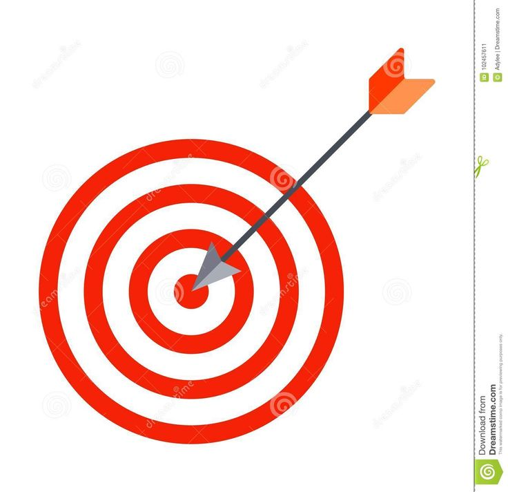 Arrow Hits Target Center. Business Success Concept - Download From Over 67 Million High Quality Stock Photos, Images, Vectors. Sign up for FREE today. Image: 102457611
